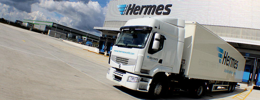 Hermes Courier Delivery